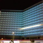 Hotel Exterior Night View