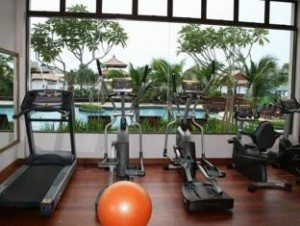 Gym Wonderland Private Chalet