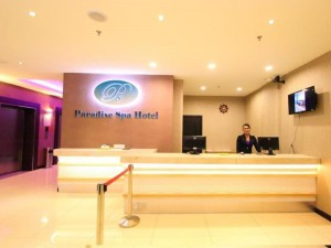 Paradise Spa Hotel Reception