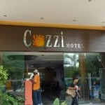 Entrance Cozzi Hotel Port Dickson